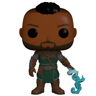 Warden The Elder Scrolls 3D Funko Pop! Available on Quidd