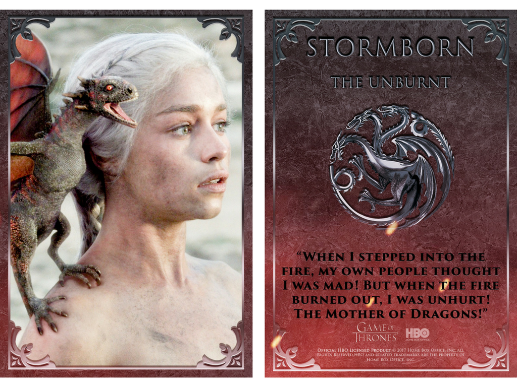 Game of Throne's Daenerys Stormborn on Quidd