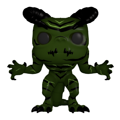 Fallout 4 Chameleon Green Deathclaw Funko Pop on Quidd
