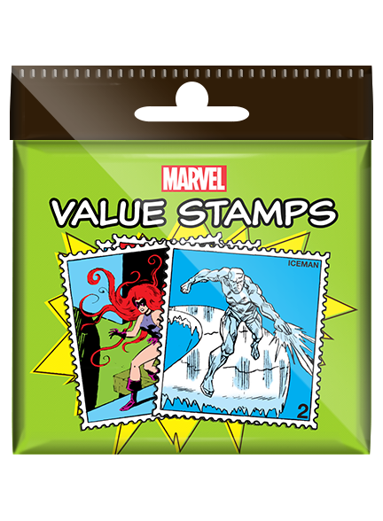 Marvel Value Stamp Set