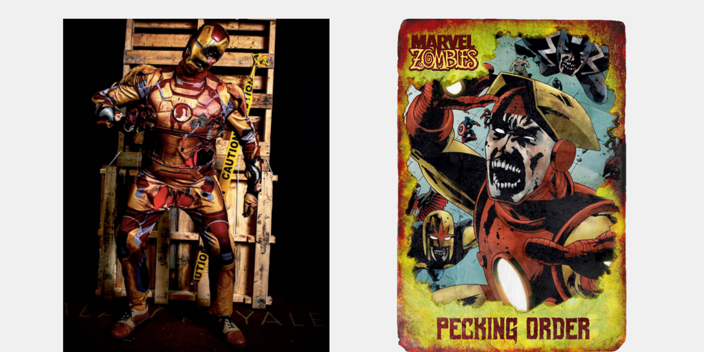 Marvel Zombies Ironman