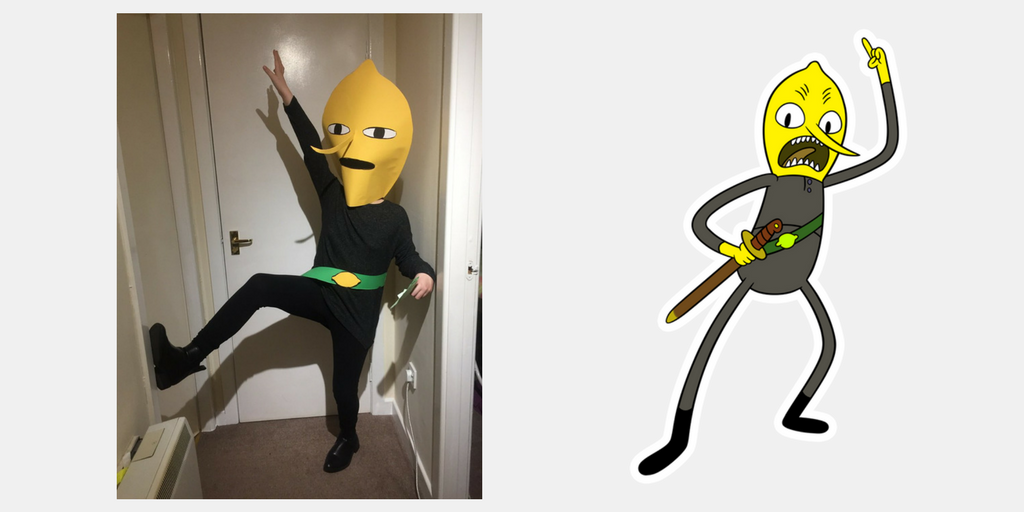 Earl of Lemongrab Halloween Costume