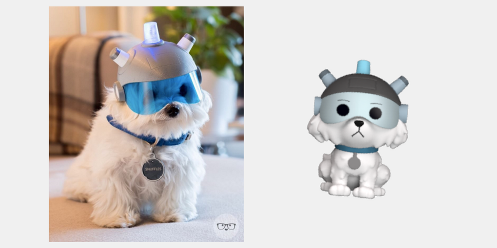 Dog Snowball Costume